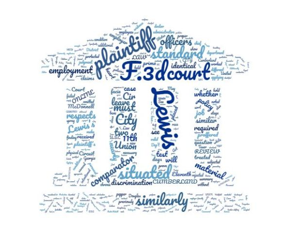 "LEWIS V. CITY OF UNION CITY: ""SIMILARLY SITUATED"" DEFINITION CLARIFIED word cloud"